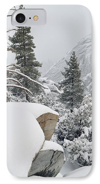 IPhone Case featuring the photograph San Jacinto Winter Wilderness by Kyle Hanson