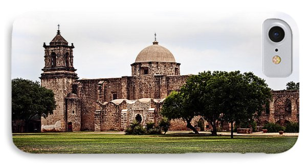 San Jose Mission IPhone Case by Andy Crawford