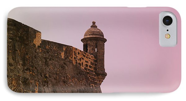 San Juan - City Lookout Post IPhone Case by Richard Reeve