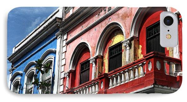 San Juan Balcony Phone Case by John Rizzuto