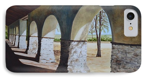 San Juan Bautista Mission Phone Case by Mary Rogers