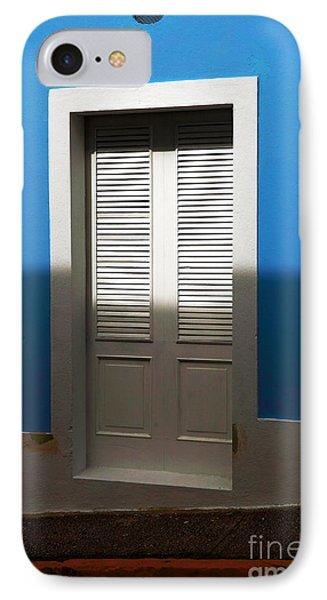 San Juan Blue Phone Case by John Rizzuto