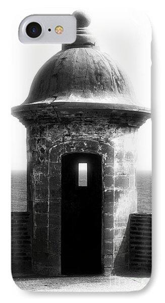 San Juan Guard Tower Phone Case by John Rizzuto