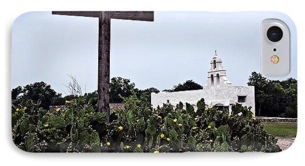 IPhone Case featuring the photograph San Juan Mission by Andy Crawford