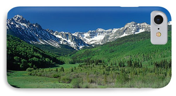 San Juan Mountains Co Usa IPhone Case by Panoramic Images