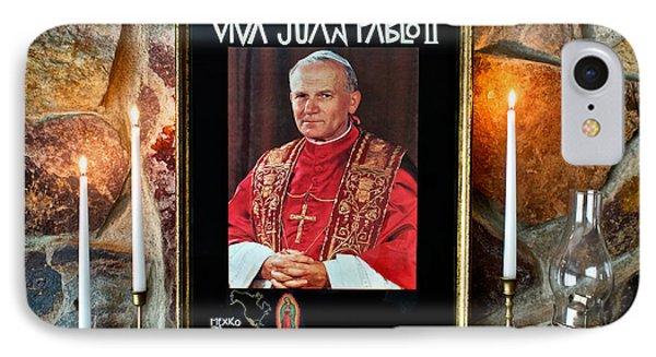 San Juan Pablo II IPhone Case by Mark Miller