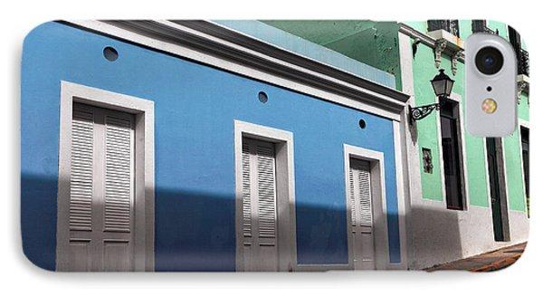San Juan Street Colors Phone Case by John Rizzuto