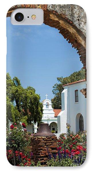 San Luis Rey - Mission Church Phone Case by Sandra Bronstein
