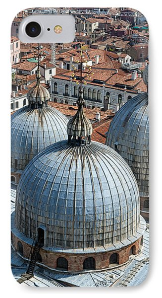 San Marco Basilica. Venice. Phone Case by Fernando Barozza