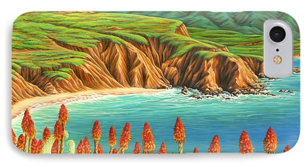 IPhone Case featuring the painting San Mateo Springtime by Jane Girardot
