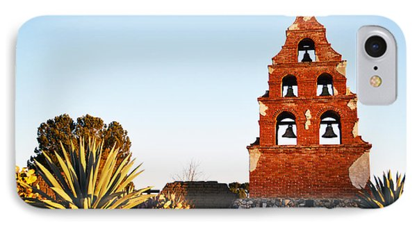 San Miguel Mission Bells IPhone Case by Barbara Snyder