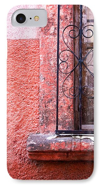 San Miguel Window2 IPhone Case by CJ Middendorf