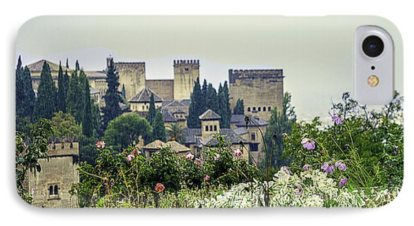 San Nicolas View Of The Alhambra - Spain IPhone Case