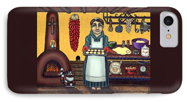 San Pascual Making Biscochitos Phone Case by Victoria De Almeida