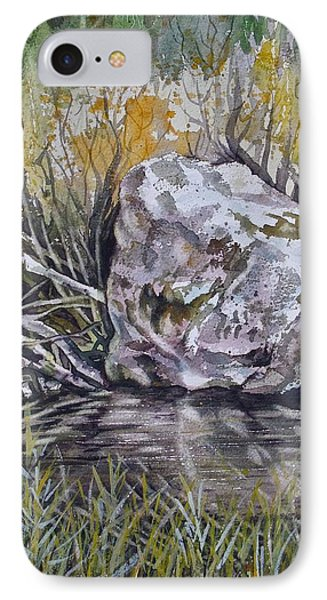 San Poil River Rock IPhone Case