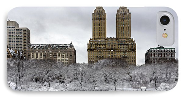 San Remo Towers Central Park Nyc IPhone Case