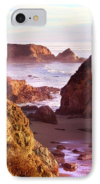 San Simeon Coastal View IPhone Case by Michael Rock