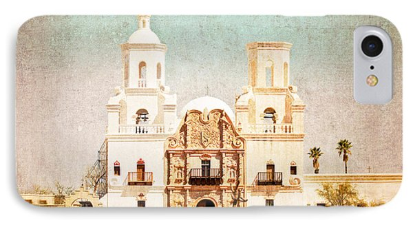 IPhone Case featuring the photograph San Xavier Del Bac Mission by Marianne Jensen