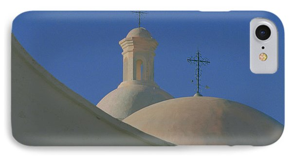 IPhone Case featuring the photograph San Xavier Del Bac by Susan Rovira