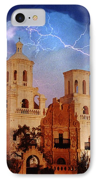 San Xavier Phone Case by Jeanette Brown
