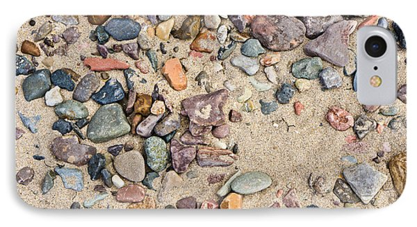 Sand And Pebbles IPhone Case by Tom Gowanlock