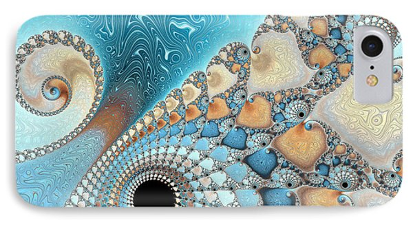 Sand And Sea IPhone Case by Heidi Smith