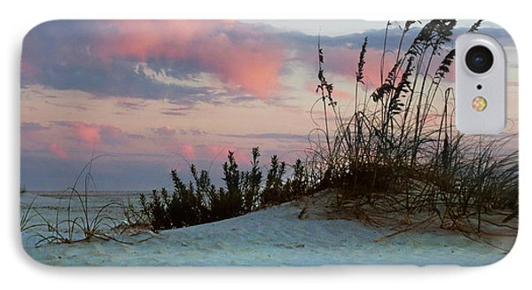 Sand And Sunset IPhone Case by Deborah Smith