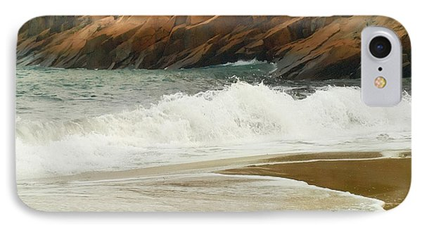 Sand Beach IPhone Case by Raymond Earley