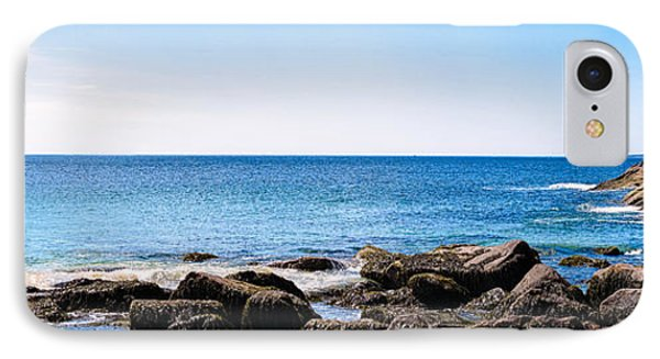 Sand Beach Rocky Shore   IPhone Case by Lars Lentz