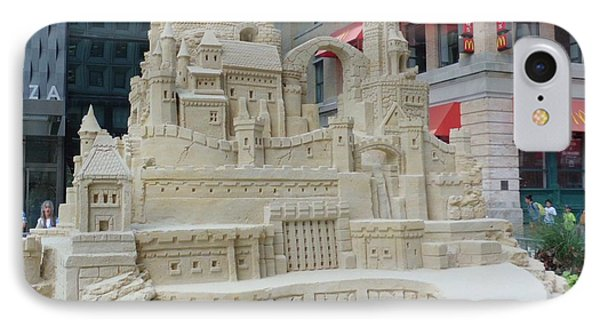 Sand Castle Phone Case by James Dolan