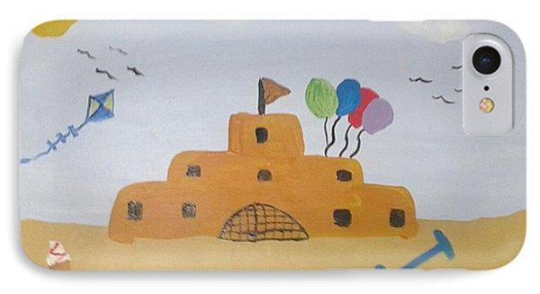Sand Castle IPhone Case by Julie Dunkley