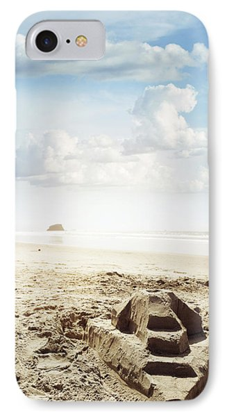Sand Castle IPhone Case by Les Cunliffe