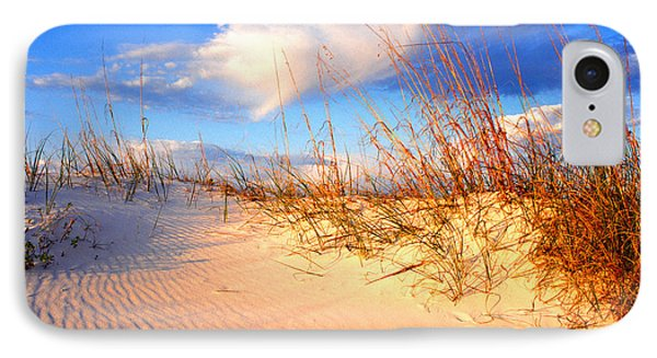 Sand Dune And Sea Oats At Sunset Phone Case by Thomas R Fletcher