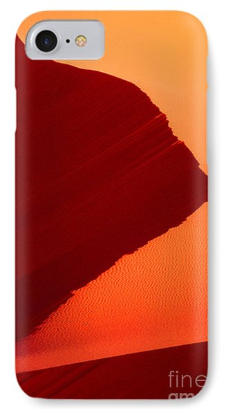 IPhone Case featuring the photograph Sand Dune Curves Coral Pink Sand Dunes Arizona by Dave Welling