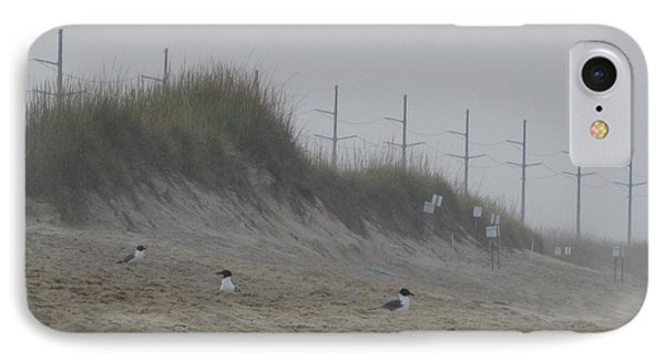 Sand Dunes And Seagulls IPhone Case by Cathy Lindsey