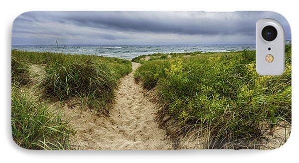 Sand Dunes Beach Path IPhone Case