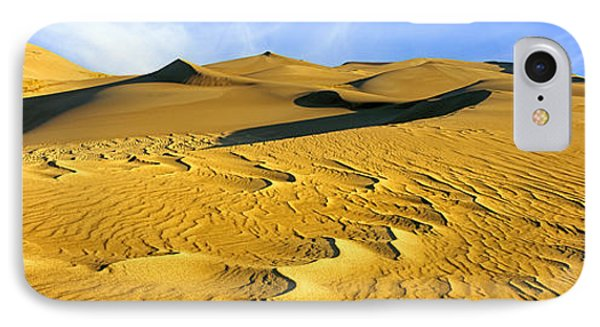 Sand Dunes In A Desert, Great Sand IPhone Case by Panoramic Images