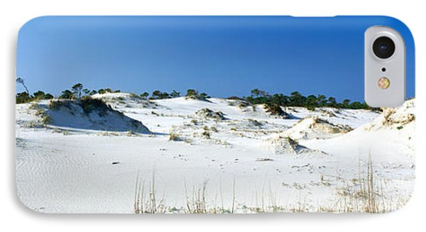 Sand Dunes In A Desert, St. George IPhone Case by Panoramic Images