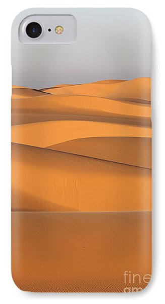Sand Dunes In The Sahara Desert Phone Case by Robert Preston