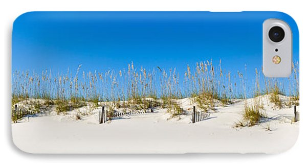 Sand Dunes On Gulf Of Mexico, Orange IPhone Case by Panoramic Images