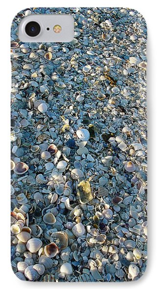 IPhone Case featuring the photograph Sand Key Shells by David Nicholls