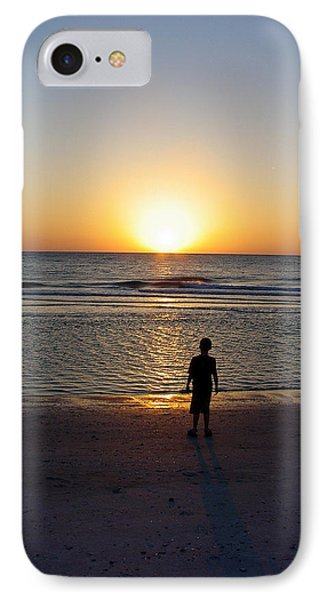 IPhone Case featuring the photograph Sand Key Sunset by David Nicholls