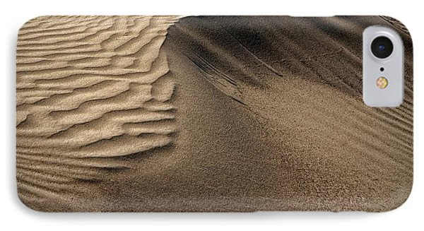 Sand Pattern Abstract - 2 IPhone Case by Nikolyn McDonald