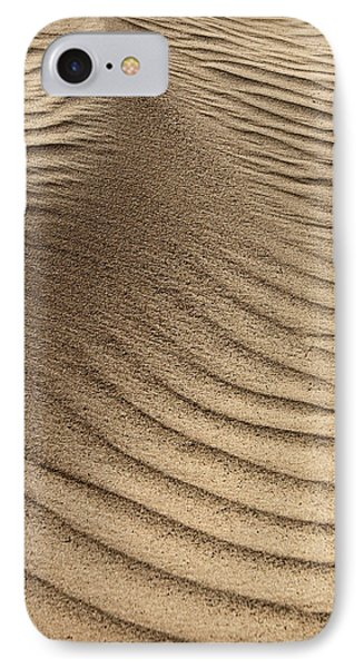 Sand Pattern Abstract - 3 IPhone Case by Nikolyn McDonald