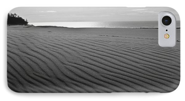 IPhone Case featuring the photograph Sand Patterns by Adria Trail