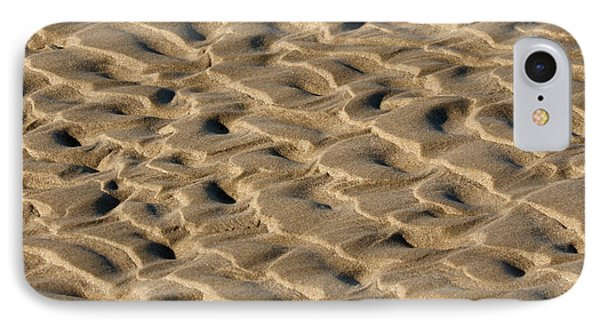 Sand Patterns Phone Case by Art Block Collections