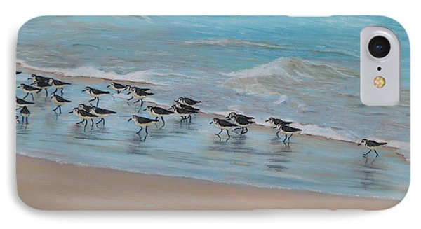 Sand Piper On Parade IPhone Case