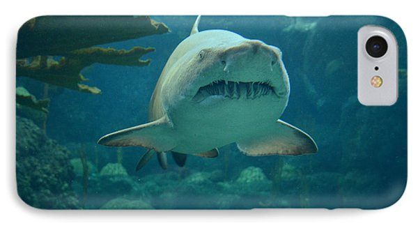 IPhone Case featuring the photograph Sand Shark by Robert Meanor