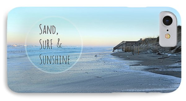 Sand Surf Sunshine IPhone Case by Robin Dickinson