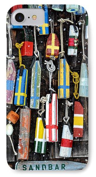 Sandbar Bouy IPhone Case by Michael Hubley